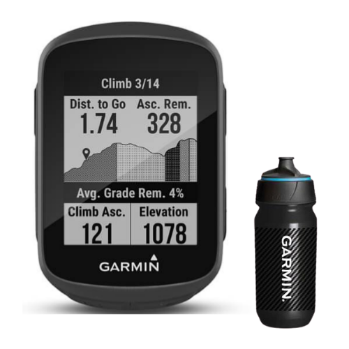 [INN03427] Combo Ciclocomputador Garmin Edge 130 Plus + Botella Garmin Carbon 500 ML