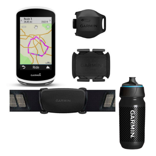 [INN03437] Combo Bundle Garmin Edge 1030 Gps para ciclismo + Botella Garmin Carbon 500 ML