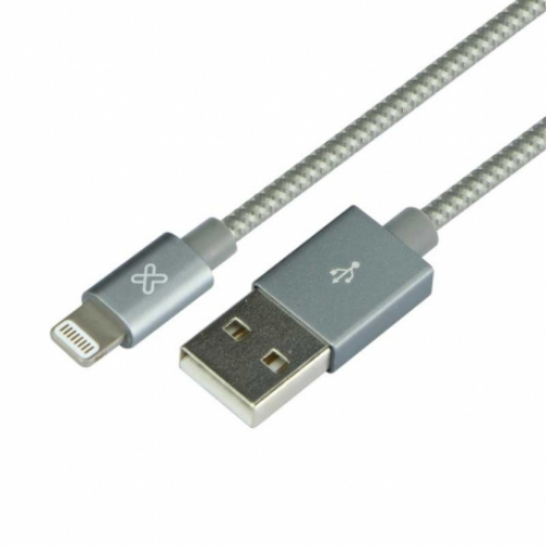 [INT3113] Cable USB Lightning 2 m Klip Xtreme Gris