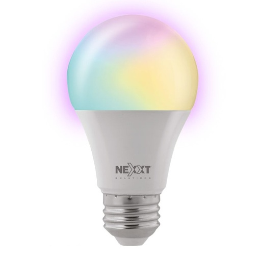 [INT4046] Bombillo Inteligente RGB Nexxt Solutions Connectivity A19 RGB
